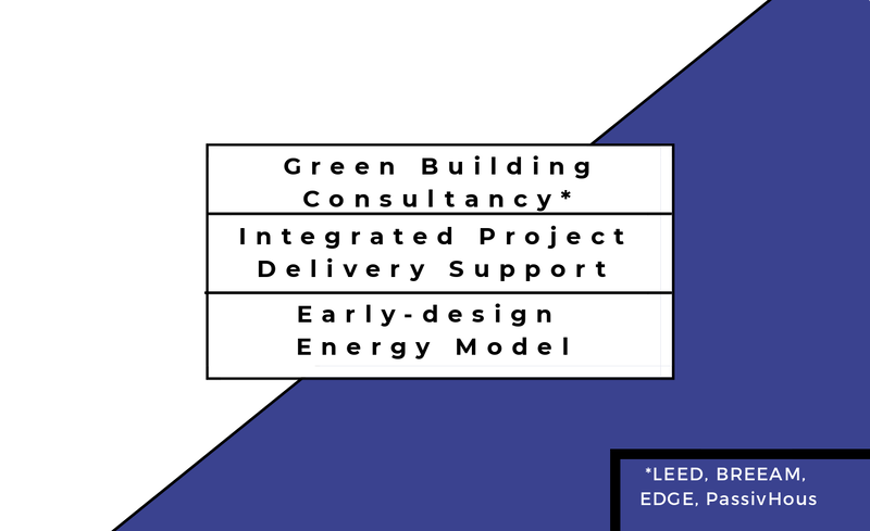 Green building certification LEED USGBC BREEAM EDGE Living Building IPD Integrated Project Delivery Early-design shoe box  simple box energy model ashrae 209 equest energyplus iesve ies ve