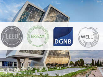 LEED, BREEAM, DGNB and WELL. Green Building Certifications